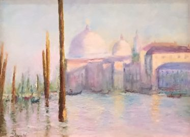 """Original Oil Painting by Artist Dorate """"Remembering Venice"""""""