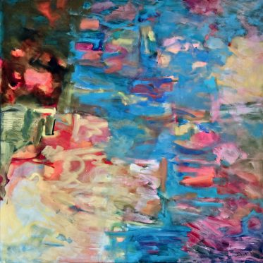 """Original Abstract Artwork by Dorate, """"Abstract Journey II"""""""