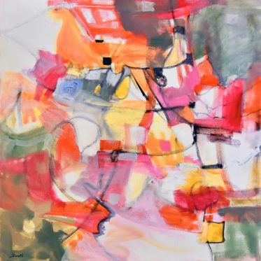 """Original Abstract Artwork by Dorate, """"Finding my Way Back Home"""""""