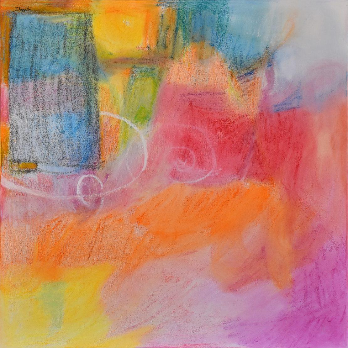 "Original Abstract Artwork by Dorate, ""Phoenix"""